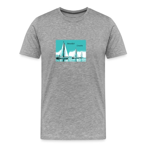Beautiful Croatia - Men's Premium T-Shirt