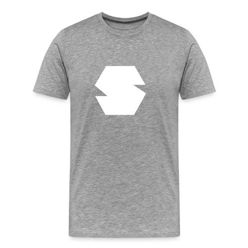 Species Logo White - Men's Premium T-Shirt