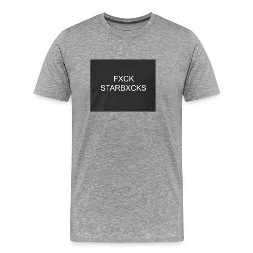 Boycott Starbucks - Men's Premium T-Shirt