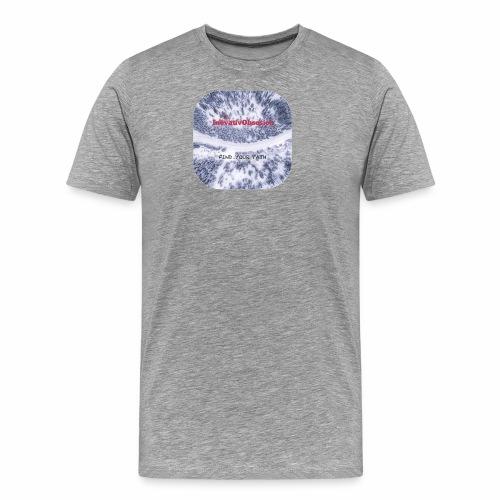 "InovativObsesion ""FIND YOUR PATH"" apparel - Men's Premium T-Shirt"