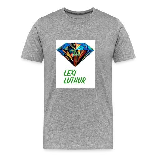 Lex Luthur Logo - Men's Premium T-Shirt