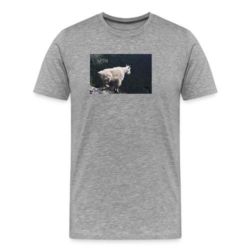Goat design by MTNshirts - Men's Premium T-Shirt