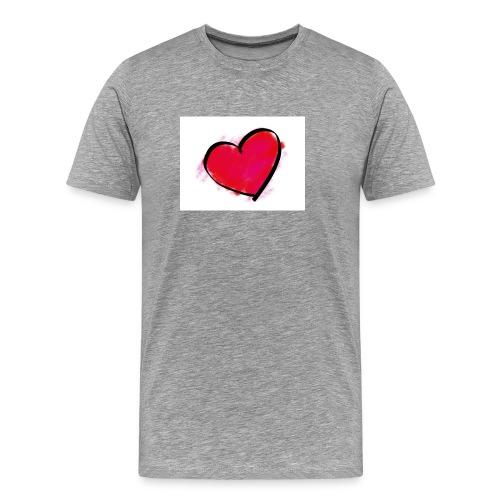 heart 192957 960 720 - Men's Premium T-Shirt