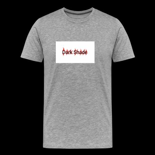 Dark Shade White - Men's Premium T-Shirt
