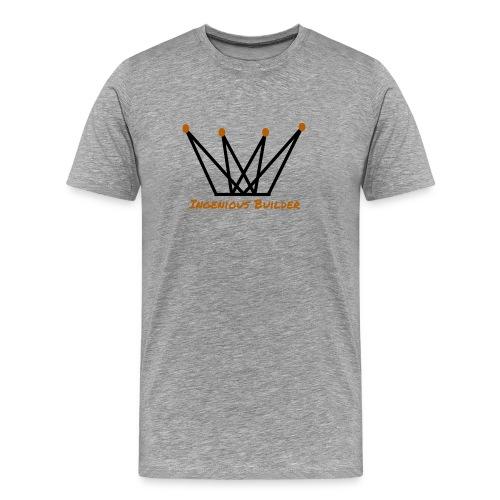 Ingenious Builder crown logo - Men's Premium T-Shirt
