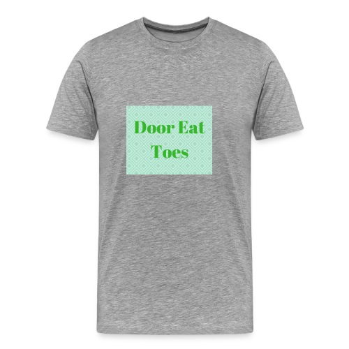 Door Eat Toes - Men's Premium T-Shirt
