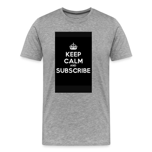 Keep calm merch - Men's Premium T-Shirt