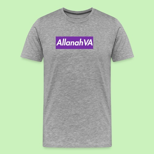 AllanahVA Supreme Purple - Men's Premium T-Shirt