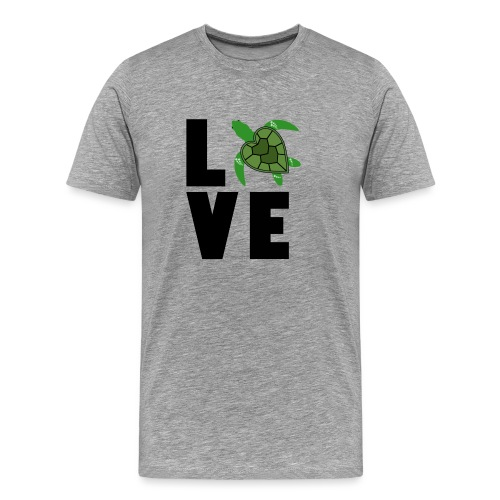 I Love Turtles - Men's Premium T-Shirt