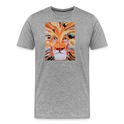 Daktari the colorful lion - Men's Premium T-Shirt