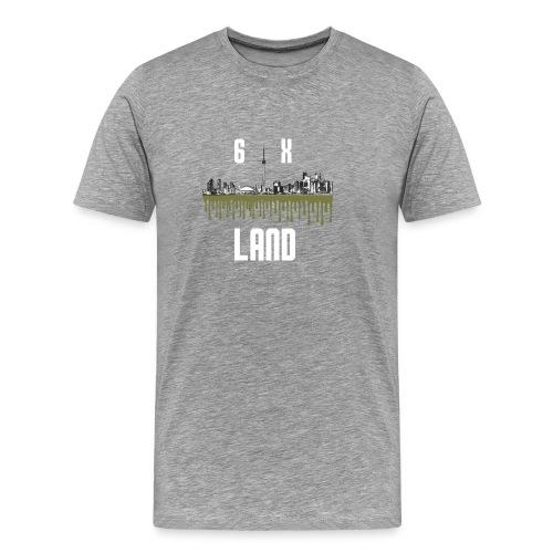 6ixland Logo - Men's Premium T-Shirt