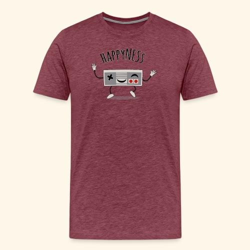 happyness2 motiv - Men's Premium T-Shirt