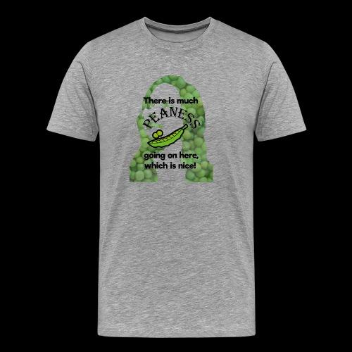Much Peaness - Men's Premium T-Shirt