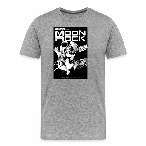 MOONROCK, One Giant Leap for Laserium - Men's Premium T-Shirt