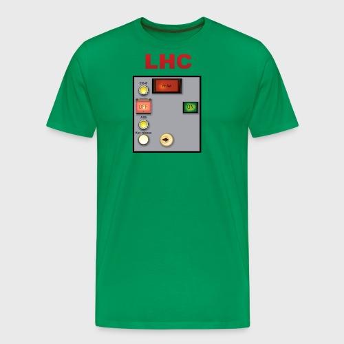 LHC Large Hadron Collider - Men's Premium T-Shirt