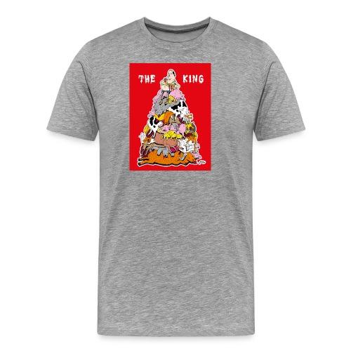 The king red - Men's Premium T-Shirt