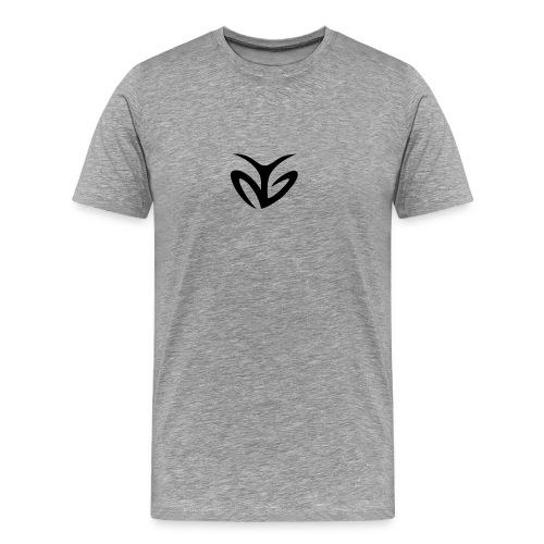 Black AG Logo - Men's Premium T-Shirt