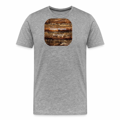 "InovativObsesion ""LOGGED IN"" apparel - Men's Premium T-Shirt"