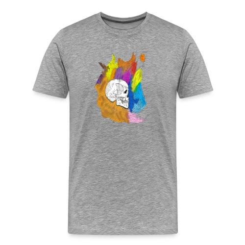 Skull Outburst - Men's Premium T-Shirt