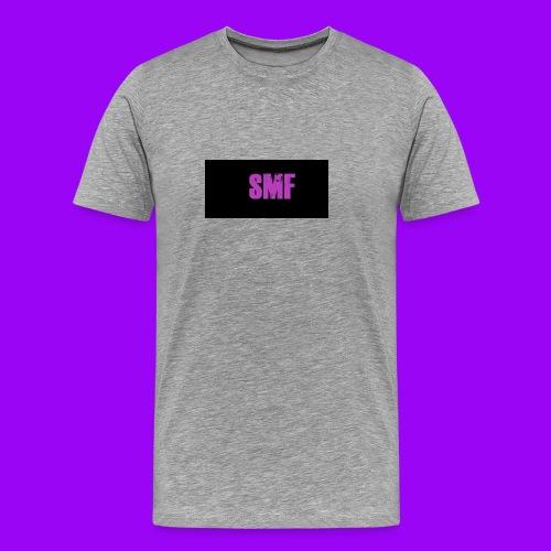 SMF purple muddy - Men's Premium T-Shirt
