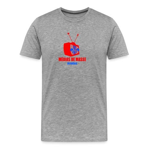 médias de masse - Men's Premium T-Shirt