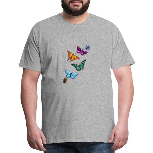 butterfly tattoo designs - Men's Premium T-Shirt