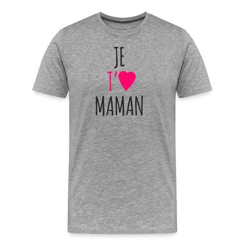 I love you mom - Men's Premium T-Shirt