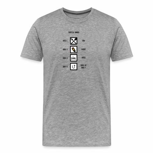 Designer Cycle - Men's Premium T-Shirt