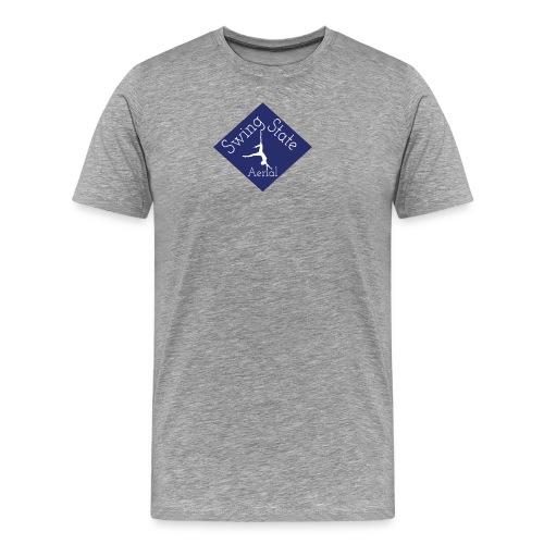 Large Swing State Logo - Men's Premium T-Shirt