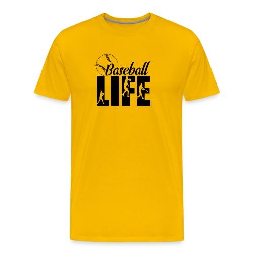 Baseball life - Men's Premium T-Shirt