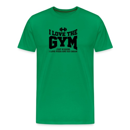 I love the gym - Men's Premium T-Shirt