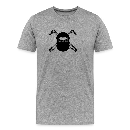 Welder Skull - Men's Premium T-Shirt