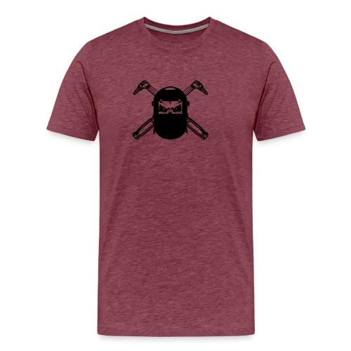 Welder Skull - Men's Premium T-Shirt