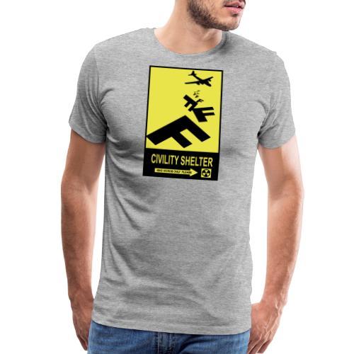 Civility Shelter - Men's Premium T-Shirt