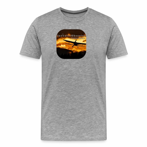 "InovativObsesion ""TAKE FLIGHT"" apparel - Men's Premium T-Shirt"