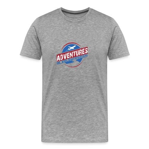 Adventures In Voluntourism - Men's Premium T-Shirt