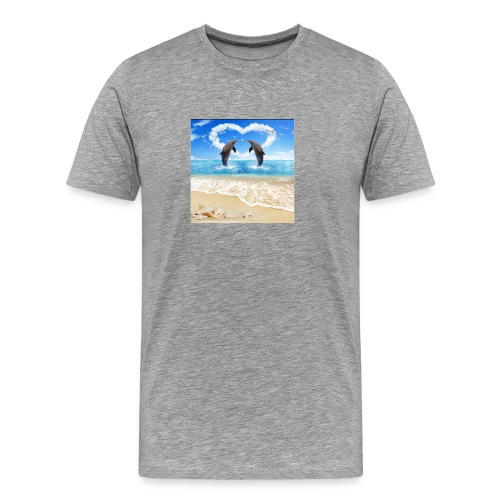 Dolphins - Men's Premium T-Shirt