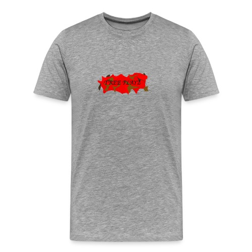 TreePLAYZ (RED EDTION) {NEW} - Men's Premium T-Shirt