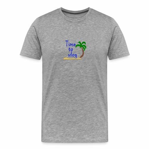 Time to Vlog - Creel Vlogs - Men's Premium T-Shirt