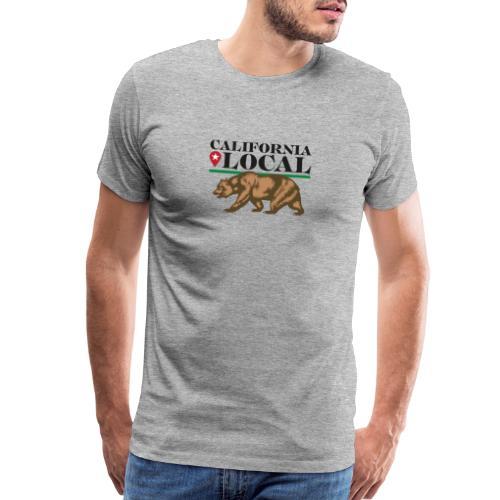 California Local Wear The Bear - Men's Premium T-Shirt