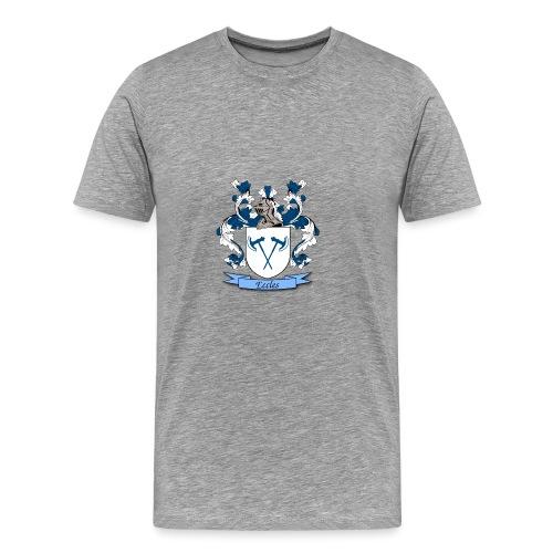 Eccles Family Crest - Men's Premium T-Shirt