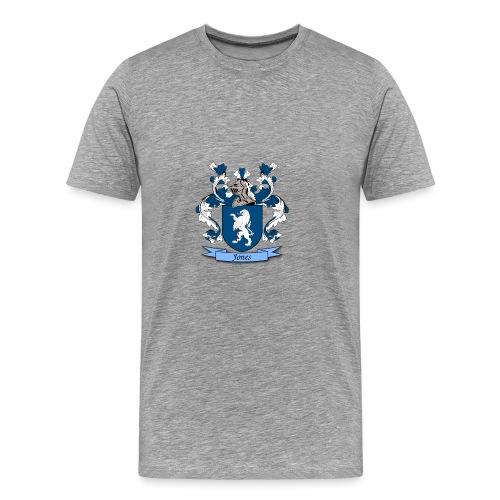 Jones Family Crest - Men's Premium T-Shirt