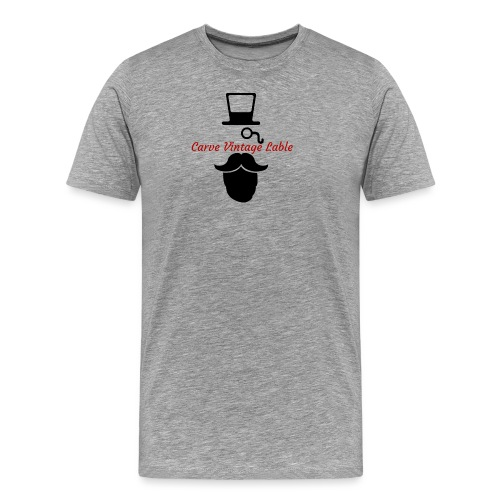 CarveClothingCo. VintageBrand - Men's Premium T-Shirt