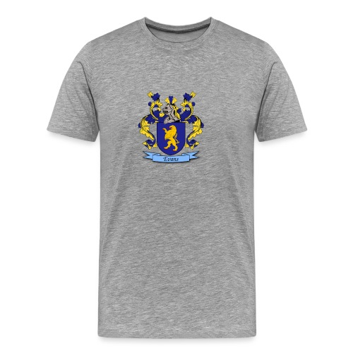 Evans Family Crest - Men's Premium T-Shirt