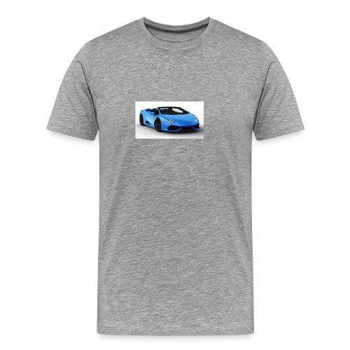 lambo huracan roadster rendering ts 4 - Men's Premium T-Shirt