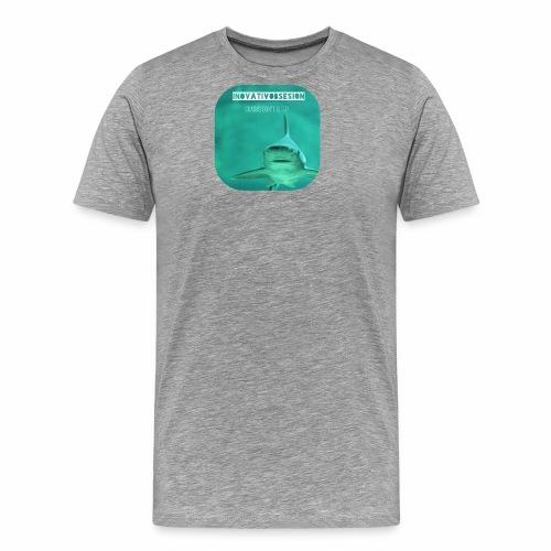 "InovativObsesion ""SHARKS DON'T SLEEP"" apparel - Men's Premium T-Shirt"