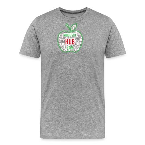 WholisticHub Apple - Men's Premium T-Shirt