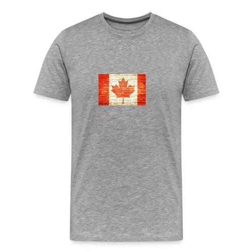 Canada flag - Men's Premium T-Shirt