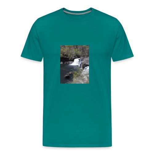 LRC waterfall - Men's Premium T-Shirt