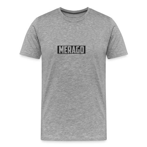 Transparent_Merago_Text - Men's Premium T-Shirt